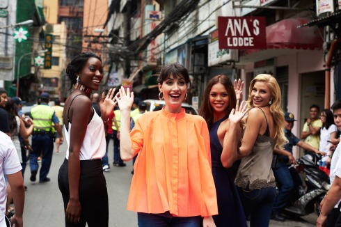 65th Miss Universe Competition - Photoshoot in Chinatown, Philippines